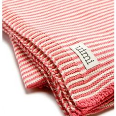 Candy Cot Blanket (100% Certified Organic Cotton) $95