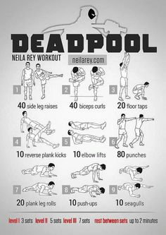 The Deadpool workout
