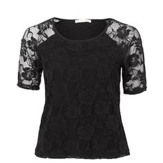 Hot Options Lace Top - Black