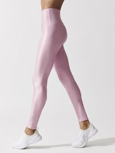 9c2635204 CARBON38 High Waisted Takara Legging Pink quartz LEGGINGS $109