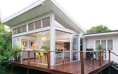 Home extension idea 2 - Add a deck