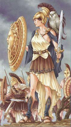 A Deusa Athena: Um pouco de sua Mitologia e Magia