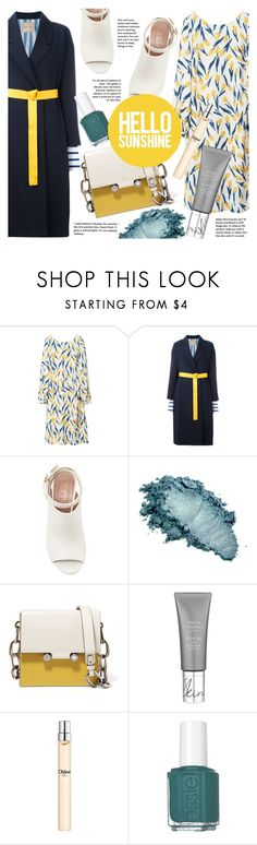"""""""Hallo Sunshine!"""" by pinkdream235 ❤ liked on Polyvore featuring The Nude London, Erika Cavallini Semi-Couture, Marni, Chloé and Essie"""