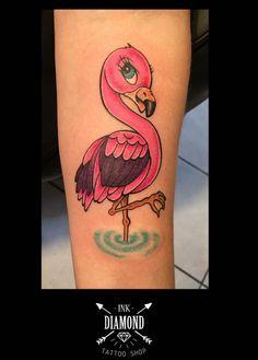 Flamingo tattoo