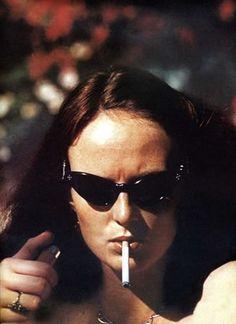 Grace Coddington by Helmut Newton, 1973.