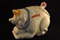 Vintage Purinton Pig Cookie Jar – Rare