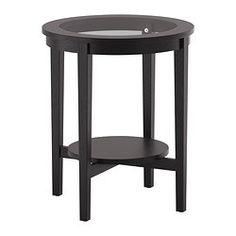 IKEA - MALMSTA, Table d'appoint, , Tablette pratique pour ranger magazines ou autres, permet de faire place nette sur la table.Surface en bois plaqué : donne à la table un aspect et un toucher naturels.