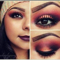 #Fall #Makeup Looks