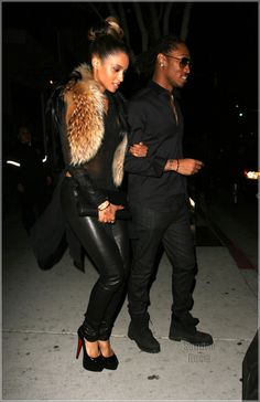 IMAGES OF FUTURE THE RAPPER | ciara and rapper future leaving mastro s restaurant after having a ...