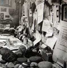 Workspace of Ray Eames.