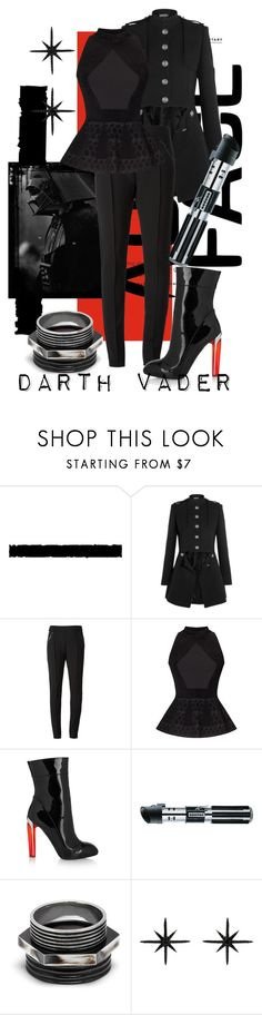 """""""No, I Am Your Father"""" by raecycle ❤ liked on Polyvore featuring Tim Holtz, Alexander McQueen, Christopher Kane, Roland Mouret, Maria Francesca Pepe, Christina Debs, movies, starwars and darthvader"""