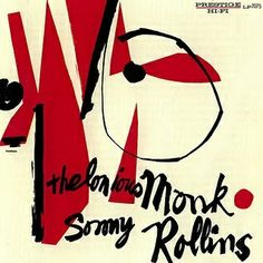 Thelonius Monk and Sonny Rollins album cover