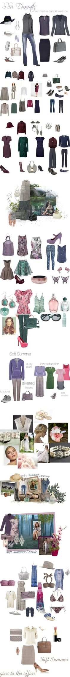 """""""Soft Summer"""" by authenticbeauty on Polyvore. Find jewelry at roxann7-.kitsylane.com"""