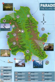 Lost Island Map by empire magazine - lost Photo