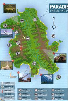 Lost Island Map by empire magazine - lost Photo