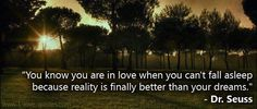 You know you are in love