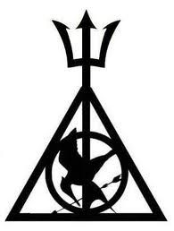 """Hunger Games + Percy Jackson + Harry Potter / FANDOMS Unite! I never thought this can be possible. :"""">"""