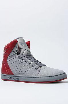 adidas The Adi High EXT Sneaker in Tech Grey Cardinal