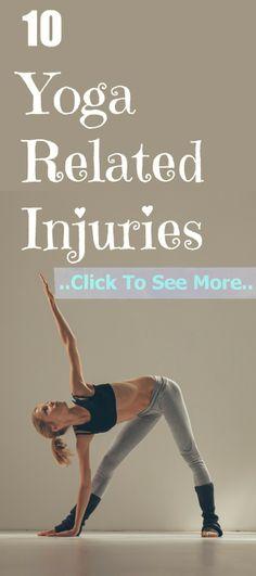 10 Yoga Related Injuries And Their Treatments Yoga Vinyasa, Ashtanga Yoga, Yoga Flow, Yoga Meditation, Yoga Anatomy, Namaste Yoga, Yoga Benefits, Yoga Videos, Pilates Workout