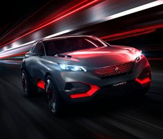 The PEUGEOT Quartz has unveiled a new vision for the crossover market segment, blending the heightened expression of a next-generation SUV with the punch of its more high-performance models. Peugeot, Suv Models, Popular Mechanics, Small Cars, Car Wallpapers, Hd Wallpaper, Paris, Sport Cars, Sport