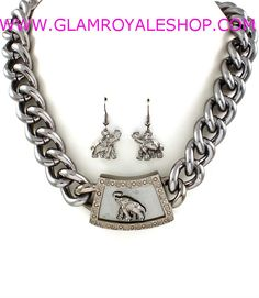 "Get your ""ELEPHANT CURBE CHAIN"" Set ( 3 colors) .** PURCHASE NOW ** ------>>>>>> http://www.glamroyaleshop.com/ProductDetails.asp?ProductCode=GRAS.45"