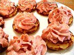 Blinis à la crème de tarama - Meilleur du Chef