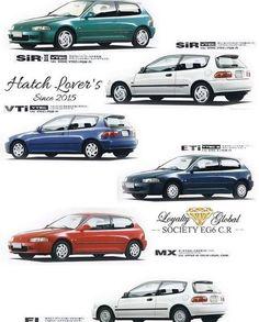 Honda Civic Hatchback, Honda Civic Type R, Civic Jdm, Self Defense Martial Arts, Civic Coupe, Japanese Domestic Market, Bike Engine, Honda Cars, Japan Cars