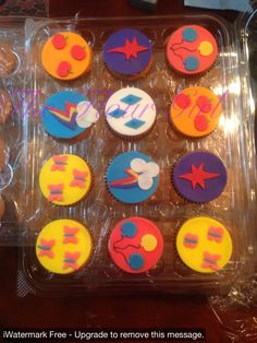 My Little Pony Cupcake Toppers. Birthday Girl
