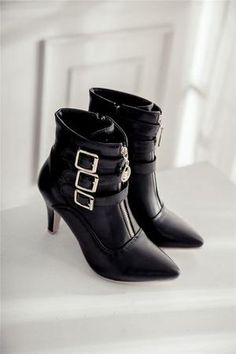 42dd0a0c1a8c Boots. Women High Heels Ankle Boots