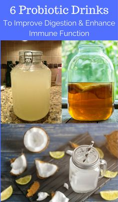 Adding natural probiotic to your diet is one of the best ways to improve your gut health, and this post shares 6 delicious drink recipes that are packed full of probiotics – sounds like a win-win! Best Probiotic Foods, Probiotic Drinks, Fermented Foods, Natural Cleanse, Natural Health, Healthy Drinks, Healthy Recipes, Drink Recipes, Diet Drinks