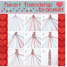 How to Make Basic Friendship Bracelets