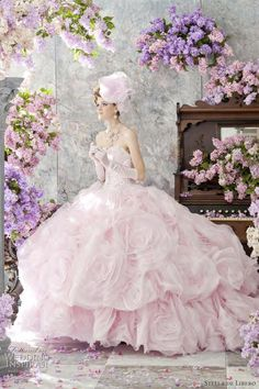 Stella de Libero Color Wedding Dress