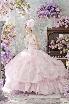 Stella de Libero Color Wedding Dress