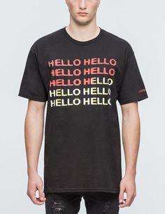 c888d3debbf ... x Pleasures Hello T-Shirt