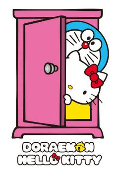 HELLO KITTY cooperates with DORAEMON at last! They release goods for adults in Japan from May.  via http://nlab.itmedia.co.jp/nl/articles/1502/03/news045.html