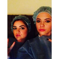 Pin for Later: 40 Photos of the Pretty Little Liars Girls That Will Give You Serious Squad Envy When They Got On That Shower Cap Grind
