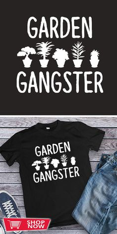 You can click the link to get yours. Garden Gangster Funny for Gardeners. Gardening tshirt for Gardener. We brings you the best Tshirts with satisfaction. Square Foot Gardening, Spring Bulbs, Garden Gifts, Hoodies, Sweatshirts, Shop Now, Bring It On, How To Get, Inspirational