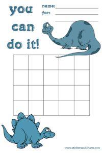 e92e886a198 Dinosaur Charts - behavior management ideas for kids