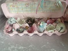 Altered egg carton