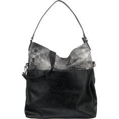 Das Highlight dieser ESPRIT Handtasche ist der Materialmix aus kariertem Textil und Kunstleder. Die Größe der Tasche kann variiert werden, indem die Kante umgeschlagen wird.  - Verschluss: Reißverschluss - ein Tragehenkel - verstell- und abnehmbarer Schulterriemen - ein Reißverschlussfach außen - ein Reißverschlussfach und ein Steckfach innen - Maße: ca. 36 x 38 x 9 cm (BxHxT) - unser Model ist...