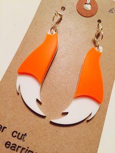 Fox tail earrings | Smiley Bum