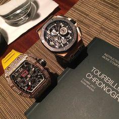 RM vs AP ... Strong tourbillon game #rm011#rg#diamonds#AP#rg#concept#tourbillon #limited #collection #wristgame #wristporn #luxurytoys #luxury4play #lifestyle #officialrichardmille #millesociety by iwan_liman