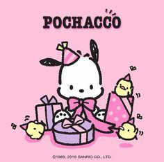 March 03 2020 at Hello Kitty Characters, Sanrio Characters, Cute Characters, Sanrio Wallpaper, Hello Kitty Wallpaper, Cartoon Wallpaper, Birthday Cards For Mum, Diy Birthday, Pochacco Sanrio