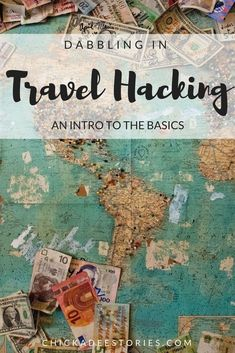 Dabbling in travel hacking.  An intro to the basics!
