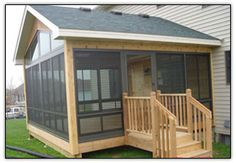 3-Season Porch offers the best of both worlds. Unlike a 4-season which is really a room addition to your house, a 3-season porch allows to be enjoy the outdoors throughout the fall and spring seasons when it is otherwise too cool to sit on the deck with any comfort.