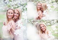 Lesbian engagement photos. A beautiful and feminine same sex engagement session in piedmont park Atlanta. Loving the flowers and natural light. #lesbian #equality #samesex #engagement