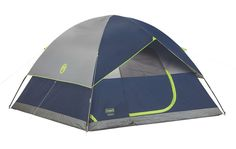 Coleman, Sundome 6 Person Tent (Green and Navy color options) Hiking Tent, Camping And Hiking, Tent Camping, Camping Gear, Tent Storage, Coleman Tent, 6 Person Tent, Cool Pops, Outdoor Gear