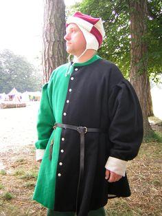 15th Century Coat from Cloak'd & Dagger'd