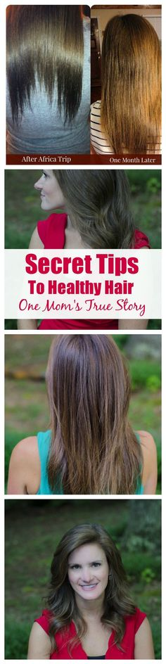 5 Healthy Hair Secrets from a mom who has been there and done that! Go from damaged and thin hair to healthy and beautiful hair in two months! Hear this mom's story and learn how you can achieve the same results at home!