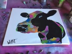 Spray Paint Art, Spray Painting, Stencil Art, Stencils, David Witts, Graffiti Art, Pop Art, Street Art, Moose Art